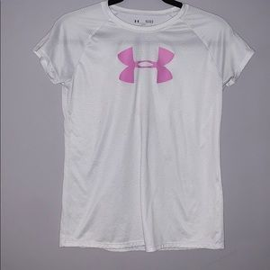 Under Armour athletic tee~ size YLG